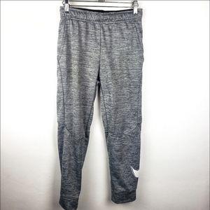 Nike | Boys Gray Joggers Active Sweatpants Large